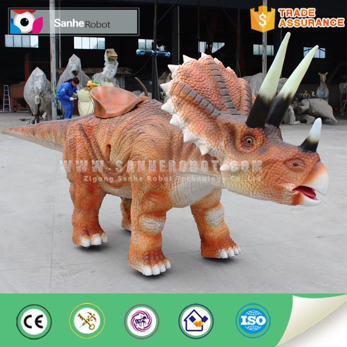 仿真恐龙 自贡恐龙博物馆行走骑乘恐龙 恐龙展览公司