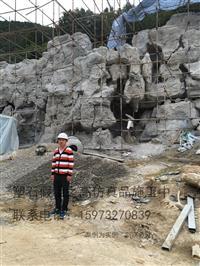 溶洞鐘乳石修復塑石假山仿木仿樹欄桿施工隊伍