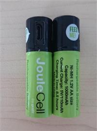 USB充电电池新加坡5号AA2节套装通用电池GOSH